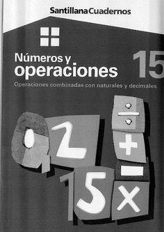 Números y operaciones 15 - Operaciones combinadas con naturales y decimales