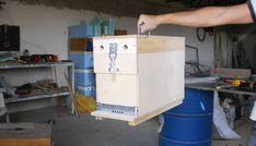 Ορεινή Μέλισσα: Κατασκευή πεντάρας κυψέλης. Πατέντα