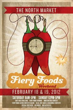 The North Market Fiery Foods Weekend - February 18, 2012