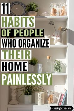 Home organization hacks can really go along with in keeping your home clean. These home cleaning tips are easy and will help you adopt some helpful habits in keeping your house neat and tidy.