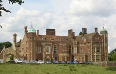 Madingley Hall, Cambridgeshire, extensively restored and reconstructed to designs by J. A. Gotch, 1906-10