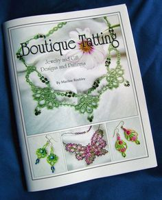 Tatting book Boutique Tatting by yarnplayer on Etsy, $21.00