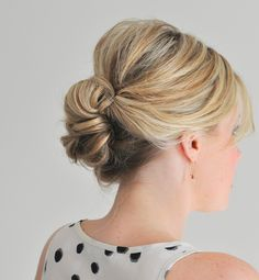 Super easy updos for all those sultry Summer parties!