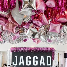 """Belle Balloons on Instagram: """"Well this was a bit spesh... back working with the A-team for the launch of the gorgeous new @teamjaggad range! #brandlaunch…"""" Ornament Wreath, Ornaments, The A Team, Hens, Balloons, Product Launch, Range, Decoration, Instagram"""