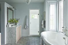 Studies have shown that paint colors can really have a dramatic impact on your mood and state of mind. | Top Tips for Transforming Your Bathroom into a Spa |