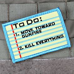 To Do List Morale Patch