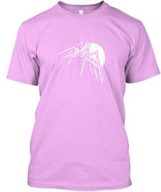 Spider Soft Pink T-Shirt Front