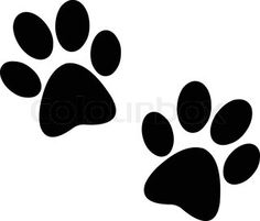 dog paw print clip art royalty free 555 dog paw print clipart rh pinterest com dog paw clipart vector dog paws clipart