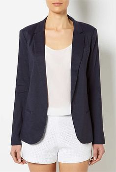 Womens Designer Clothing & Fashion Online | Witchery - Boyfriend Linen Blazer #withcherywishlist