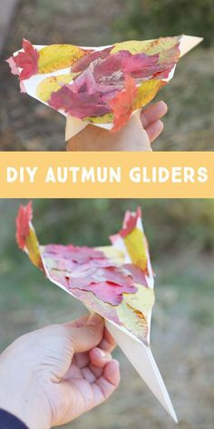 Autumn Gliders: A Simple Fall Kid Craft