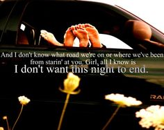 I Don't Want This Night to End- Luke Bryan
