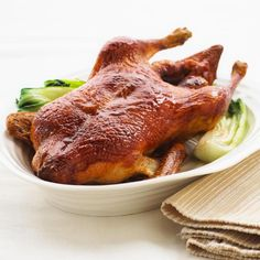 Recipe for Roasted Aromatic Asian Style Duck