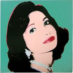 Andy Warhol: Farah Ashraf Pahlavi (Princess of Iran)
