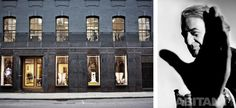 Фасад бутика Paul Smith в Лондоне