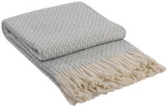 Wollplaid Wolldecke 140x200cm Plaid Wohndecke Kuscheldecke Decke 80%Wolle