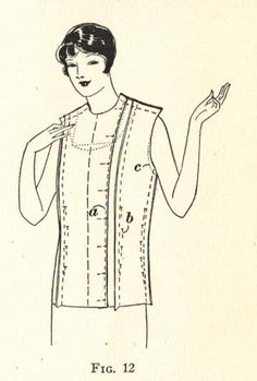 The Midvale Cottage Post: History of Sewing: 1920s Foundation Garments - A Close Look at Close-Fitting Linings