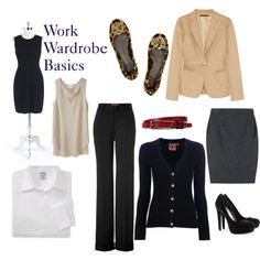 Work Wardrobe Essentials, created by funthusiast on Polyvore