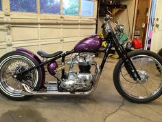 Andy Hess and brother - 1969 Triumph Tiger chopper project.I'm building a 69 triumph ideas . Honda Bobber, Triumph Bikes, Bobber Bikes, Triumph Motorcycles, Custom Motorcycles, Softail Bobber, Triumph Chopper, Chopper Motorcycle, Bobber Chopper