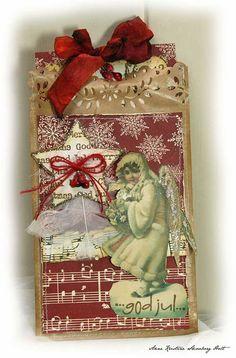 Beautiful Christmas tag