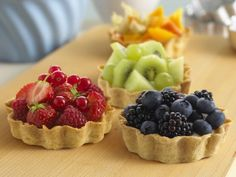 Fruit tarts.  Perfect for the summer!