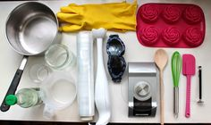 """Kraina Mydlanych Inspiracji: Instrukcja jak zrobić mydło metodą """" na zimno"""" Diy Spa, Can Opener, Decoupage, Perfume, Health, Soaps, Christmas, Hand Soaps, Xmas"""