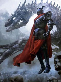 Emperor advanced by Chase Stone (A World of Fantasy) Fantasy Warrior, 3d Fantasy, Medieval Fantasy, Fantasy Artwork, Fantasy World, Dark Fantasy, Fantasy Creatures, Mythical Creatures, Chase Stone