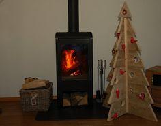 Kerstboom van steigerhout