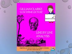 'Lunchtime Lecture' - Gillian Clarke - Line by Line analysis