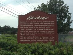 Eastman, GA; Birthplace of Stuckey's