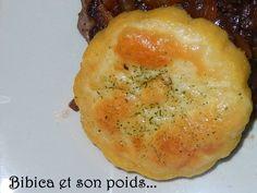 Polenta gratinée à la mozzarella
