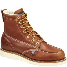 804-4200 Thorogood Men's SR Safety Boots - Tobacco www.bootbay.com