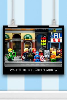 Outrageously funny LEGO® art DC and Marvel Superheroes Wall Art that you'll only find from SillyBrickPics™. Great for playrooms, dorm rooms, offices or gifts!