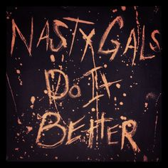 Photo by onnao • #nastygalsdoitbetter http://www.nastygal.com/nasty-gals-do-it-better-contest
