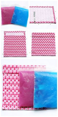 DIY Ice Pack and Cozy Tutorial