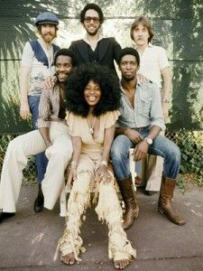 """Rufus was an American funk band from Chicago, Illinois best known for launching the career of lead singer Chaka Khan. They had several hits throughout their career, including """"Tell Me Something Good,"""" """"Sweet Thing,"""" and """"Ain't Nobody. Music Icon, Soul Music, Music Is Life, My Music, Indie Music, Music Concerts, Afro, Funk Bands, Chaka Khan"""