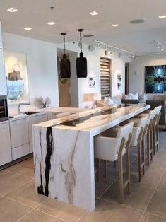 Super Home Lighting Kitchen Granite Ideas Kitchen Cabinet Design, Home Remodeling, Home Decor Kitchen, Kitchen Room Design, Home Decor, Kitchen Style, Luxury Kitchen Design, Luxury Kitchen, Modern Kitchen Design
