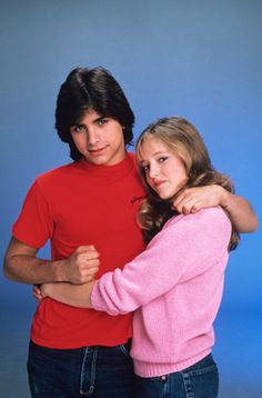 Blackie Parish (John Stamos) and girlfriend Lou