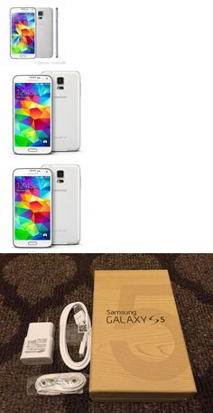 cell phones: New Samsung Galaxy S5 Sm-G900a 16Gb Unlock White (Atandt) Android Smartphone BUY IT NOW ONLY: $216.99