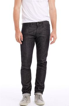 Two Tone Selvedge Skinny - Denim - Mens - Armani Exchange