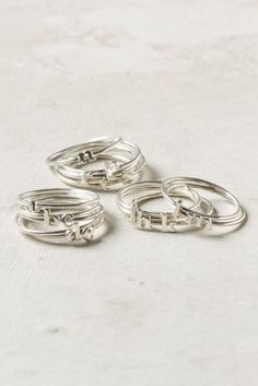 Your hands are constantly on display, which is why Leah always stacks on a few of her favorite rings.