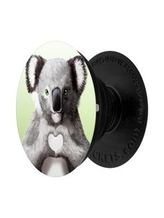 Give you phone or tablet that 'awww' factor with this cute design from Unorthodox. This brilliant PopSocket features a grey koala holding it's hands in a heart shape, this useful little gadget is perfect to prop up your device whilst on a call to a loved one. Grindstore Exclusive Design.