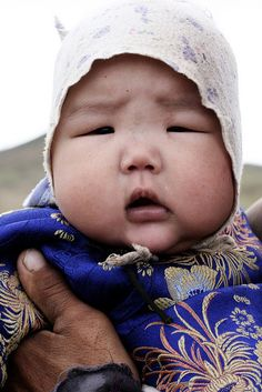 Mongolian baby | Flickr - Photo Sharing!