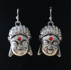 Silver Buddha by StoneExpressions on Etsy