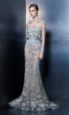 Ziad Nakad Haute Couture Elegance Vibes Collection… I ❤️ Clothing Elegant Dresses, Pretty Dresses, Formal Dresses, Vintage Dresses, Wedding Dresses, Beautiful Gowns, Beautiful Outfits, Couture Dresses, Fashion Dresses