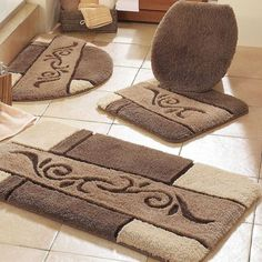 Giving The Large Bathroom Rugs Will Complete The Bathroom Appearance.  Choose The Best Materials And Usage Pattern Of The Rugs.