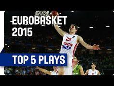 Top 5 Plays - Day 1 - EuroBasket 2015 - YouTube  Mario Hezonja!!