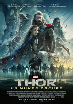 13 Best Thor The Dark World Character Poster Images Darkness New
