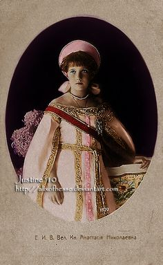 Grand Duchess Anastasia Nikolaievna Romanov. youngest Grand Duchess by ~AlixofHesse on deviantART