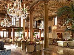 Hotel Danieli, Lobby Area