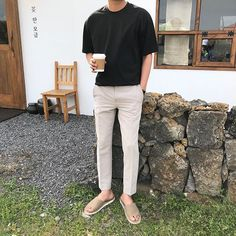 Mens Minimalist Fashion - My Minimalist Living Dope Outfits For Guys, Casual Outfits, Fashion Outfits, Boho Fashion, Fashion Tips, Korean Fashion Men, Best Mens Fashion, Classy Photography, Vintage Photography